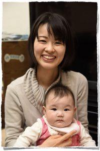 イクティス歯科クリニック 副院長 江藤沙織 子供と一緒
