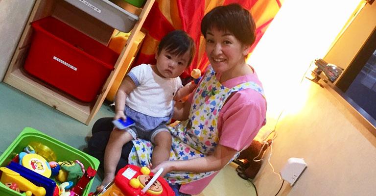 イクティス歯科クリニックの無料託児サービス
